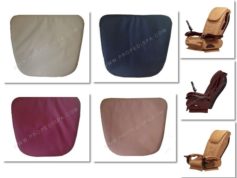 Acetone proof massage pillow cushion upholstery for pedicure spa chair Chocolate Cloud 9 Luxe